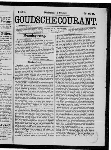 Goudsche Courant 1868-10-01
