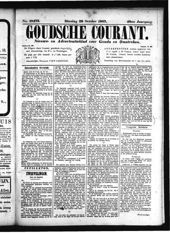 Goudsche Courant 1907-10-29