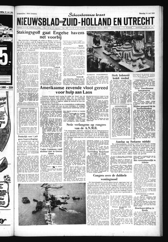 Schoonhovensche Courant 1962-05-14