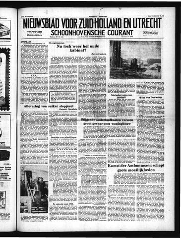 Schoonhovensche Courant 1951-03-07