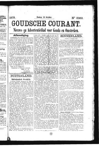 Goudsche Courant 1879-10-19