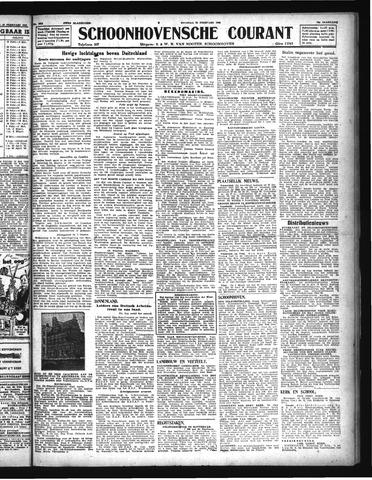Schoonhovensche Courant 1944-02-22