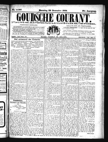Goudsche Courant 1919-12-29