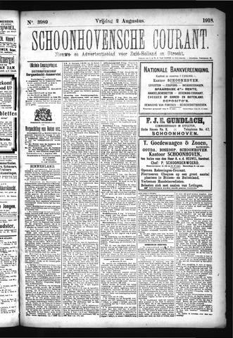 Schoonhovensche Courant 1918-08-02