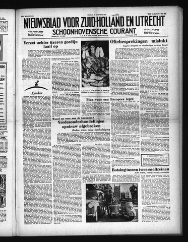 Schoonhovensche Courant 1951-08-24