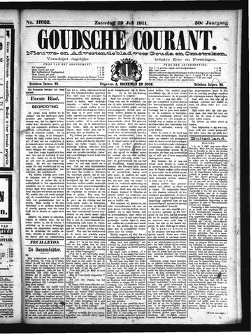 Goudsche Courant 1911-07-29