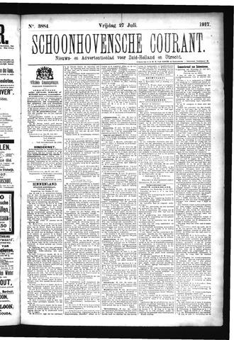 Schoonhovensche Courant 1917-07-27