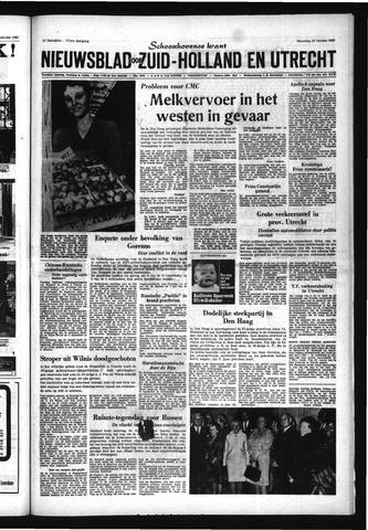 Schoonhovensche Courant 1969-10-20
