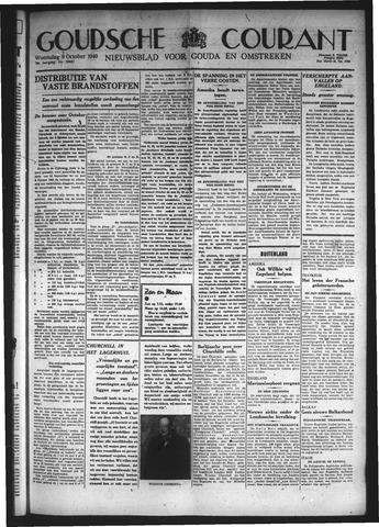 Goudsche Courant 1940-10-09