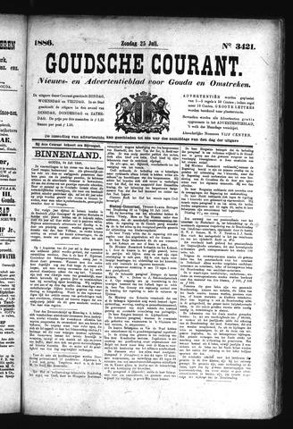 Goudsche Courant 1886-07-25