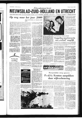 Schoonhovensche Courant 1969-01-10