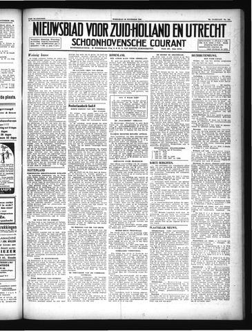 Schoonhovensche Courant 1946-11-20