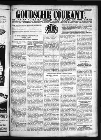 Goudsche Courant 1939-11-23