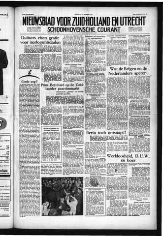 Schoonhovensche Courant 1953-10-19