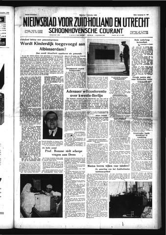 Schoonhovensche Courant 1958-12-01