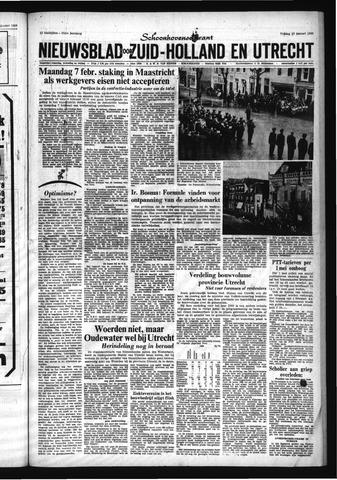 Schoonhovensche Courant 1966-01-28