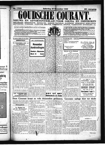 Goudsche Courant 1930-11-15