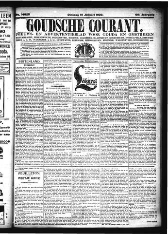 Goudsche Courant 1922-01-10