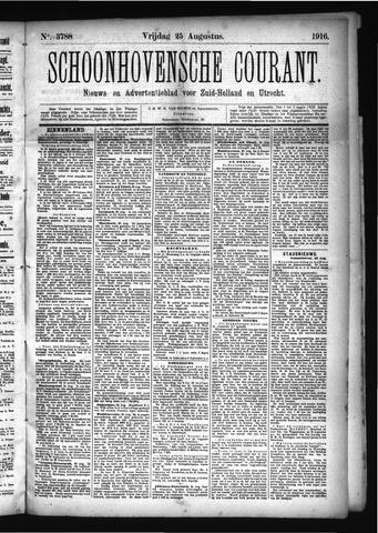 Schoonhovensche Courant 1916-08-25