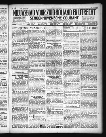Schoonhovensche Courant 1936-11-18