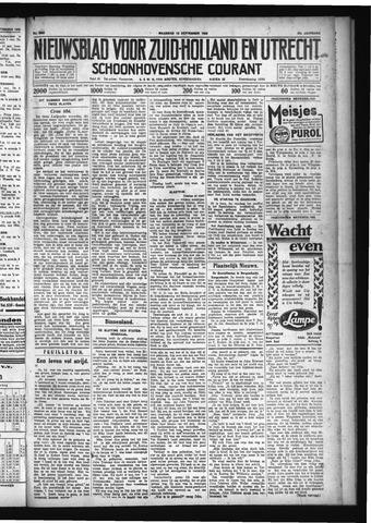 Schoonhovensche Courant 1929-09-16