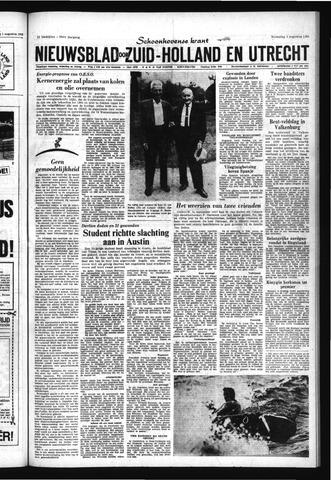Schoonhovensche Courant 1966-08-03