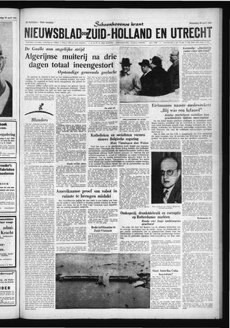 Schoonhovensche Courant 1961-04-26
