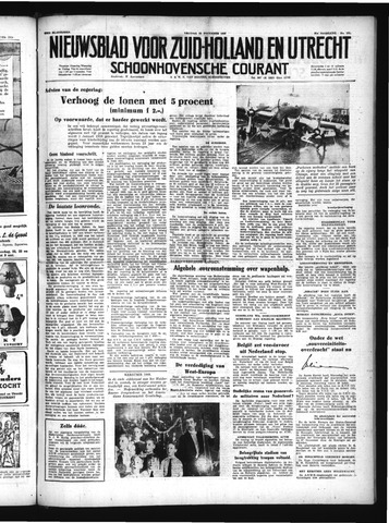 Schoonhovensche Courant 1949-12-23