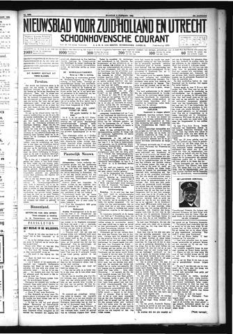 Schoonhovensche Courant 1932-02-08