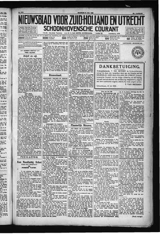 Schoonhovensche Courant 1930-07-21