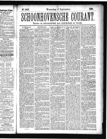 Schoonhovensche Courant 1893-09-06