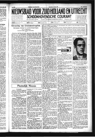 Schoonhovensche Courant 1934-06-22