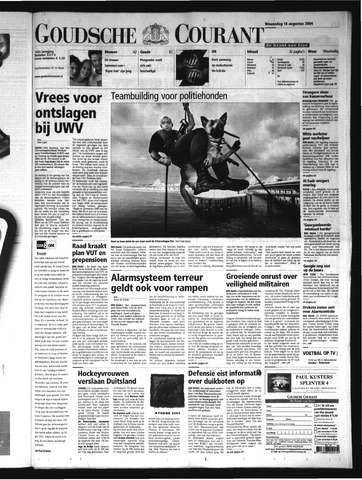Goudsche Courant 2004-08-18