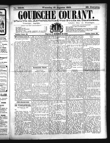 Goudsche Courant 1913-08-13