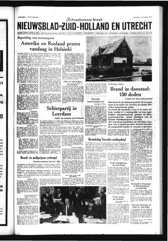 Schoonhovensche Courant 1970-11-02