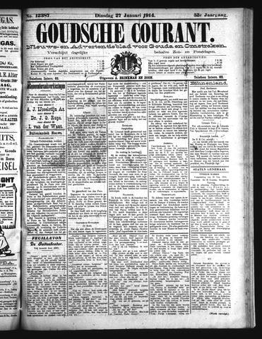 Goudsche Courant 1914-01-27