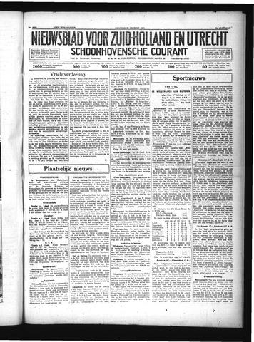 Schoonhovensche Courant 1934-10-29