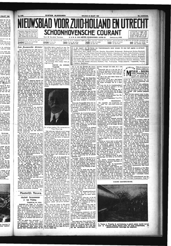 Schoonhovensche Courant 1933-03-31