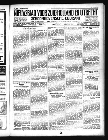 Schoonhovensche Courant 1938-10-10