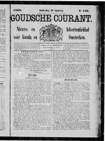 Goudsche Courant 1863-08-20