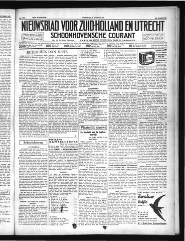 Schoonhovensche Courant 1937-10-13