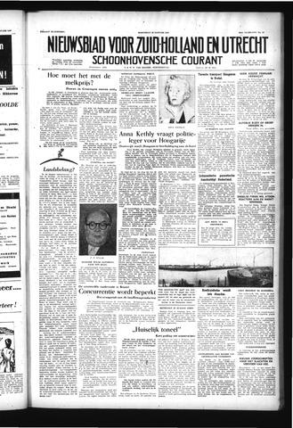 Schoonhovensche Courant 1957-01-30