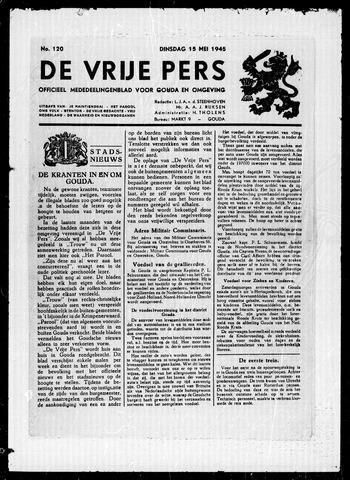 De Vrije Pers 1945-05-15