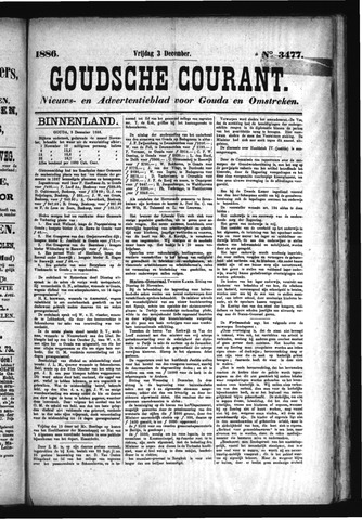 Goudsche Courant 1886-12-03