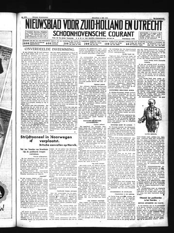 Schoonhovensche Courant 1940-05-06
