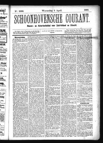 Schoonhovensche Courant 1902-04-02