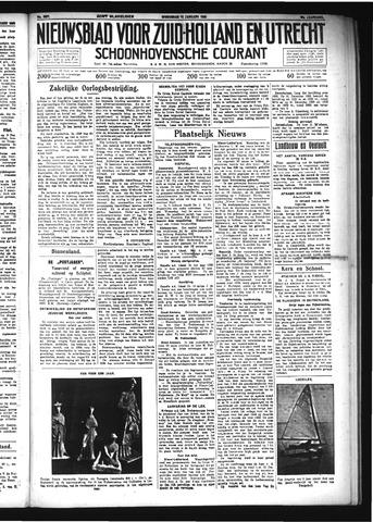Schoonhovensche Courant 1934-01-10