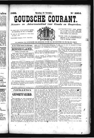 Goudsche Courant 1892-11-28