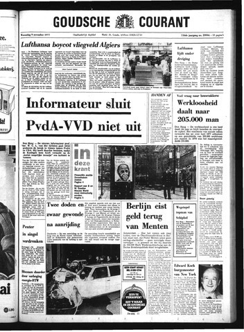 Goudsche Courant 1977-11-09