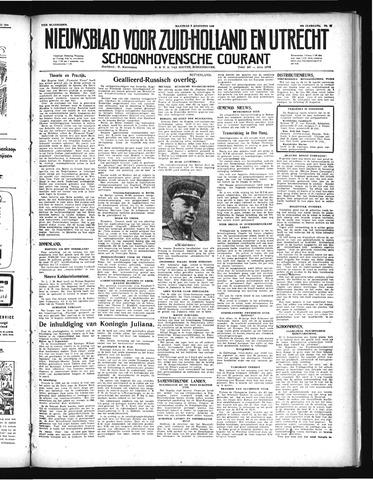 Schoonhovensche Courant 1948-08-02